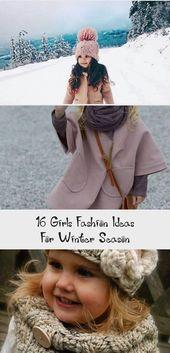 16 idées de mode pour filles pour la saison d'hiver   – Baby Clothing
