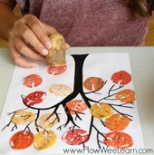 Crafting in Autumn with kids under 3 * Mission Mom