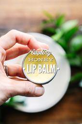 Cooling Honey Lip Balm
