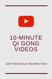 Online Qi Gong exercises that take only 10 minutes