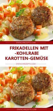 Fleischbällchen mit leckerem Kohlrabi und Möhren 😍 😍 😍   – Auflauf