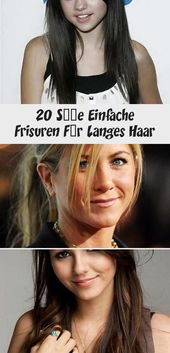 20 cute simple hairstyles for long hair