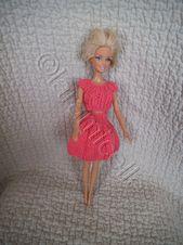 Jupe et tutoriel Corolla pour Barbie   – Barbie & Ken