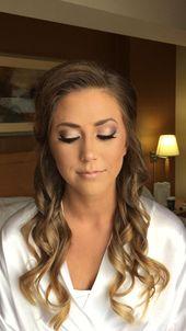 Schminke #HochzeitHaarIdeen Schminke #Frisur #Bild #Ergebnis #Hochzeit – Braut make up | Bride make up