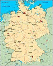 Mit Angrenzenden Landern Deutschlandkarte Karten Bilder