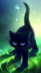 Diestelblatt😍😍💖💖 – Arte de gatos – #Diestelblatt #Cats #Art   – süße