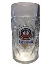 "Erdinger – German Beer Glass 1.0 Liter Stein – Masskrug – ""Oktoberfest"" – NEW"