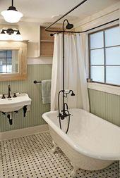 9 schöne Badezimmer mit Clawfoot Wannen   – bathroom