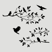 Birds Branch, vinyl DECAL stickers, wall stickers, car decals, laptop stickers, Vinyl Decal bumper stickers phones iPhones walls trucks – tattoobirds