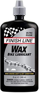 Finish Line Wax Bicycle Chain Lube Drip Squeeze Bottle Review