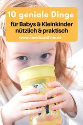 Praktische Dinge für Babys & Kleinkinder: Diese Helfer lohnen sich!