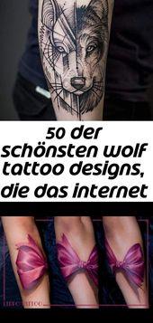 50 der schönsten wolf tattoo designs, die das internet je gesehen hat #das #der #designs #di… 22