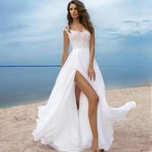 151 beach wedding dresses perfect for destination weddings -page 11 > Homemytri….