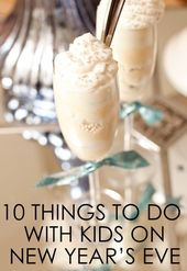 10 Things to Do with Kids on New Year's Eve