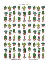 Kawaii Cactus (Planner Addiction) – #Addiction #Ca… – #Addiction #Ca #Cactus