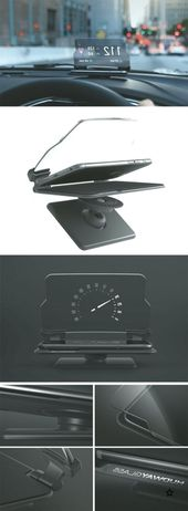 You dont need a $150000 luxury car to have head up display! All you need is