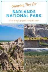 Use this resource to help you plan a camping trip to Badlands National Park in S…
