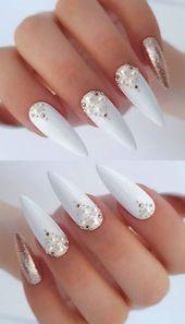 ✔ 72 Fabulous Methods tо Put on Glitter Nails Lіkе а Princess