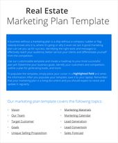 Marketing Plan Templates Marketing Plan Examples  Marketing Plan