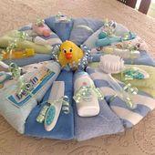 Baby Carrier Baby Windel Kuchen Pizza Pie, Waschlappen, Baby-Accessoires, Baby-Dusche-Geschen...
