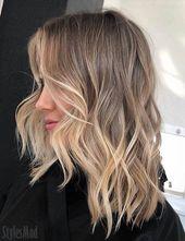 Idées parfaites de la hairstyle Balayage 2019 à porter dès maintenant