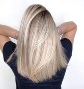 67 Wunderschöne Balayage Haarfarbe Ideen – Blondes Ombré-Haar – Blondes Ombré-Haar, …   – Beauty