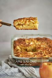 Apple Slab Olive Oil Cake – Sweets Sweets Sweets