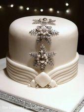 41 ideas populares de pastel de bodas en el país de las maravillas para el invierno   – Hochzeitsideen