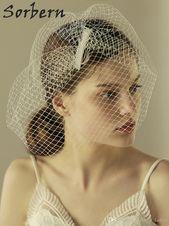 Sorbern Bridal Veil Hats Bridal Single Layer Design Wedding Hair Accessories For Women Elegant Style Handmade Party Fine Gift White Jewelry Short Bridal Veil Silk Wedding Veil From Graceful_ladies, $11.7| DHgate.Com – Clothing