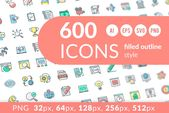 Icon Pack  Custom-Designed Icons