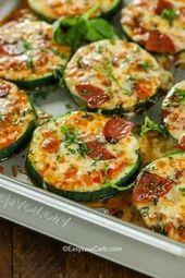 Zucchini Pizza Bites sind einer unserer Lieblingssnacks! Diese leckeren Pizzabissen … – Best Picture Club