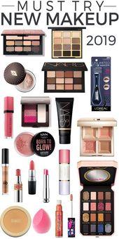 19 neue Make-up-Produkte zum Schminken – Make-up 2019 – #makeup #Products …   – Makeup Ideen