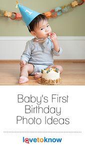 Baby's First Birthday Photo Ideas – Baby Stuff