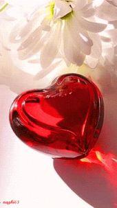 Pin Oleh Virgen Serrano Di Coeur D Amour قلوب المحبة Lukisan Cat Air Fantasi Gif
