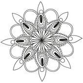 ▷ Mandalas para colorear 👉 Más dibujos de Mandalas