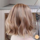 Natürliches Balayage – Pfirsich Stockholm – #balayage #Natural #Peach #stockholm   – hair & make up