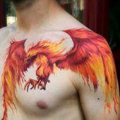 101 Best Phoenix Tattoos For Men   – Cool Tattoos For Men