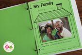 Wie man ein Klassenbuch mit diesem kostenlosen Familienthema druckbar macht   – Christmas