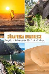Reiseroute Südafrika in 3-4 Wochen – Die beste Roadtrip Route!