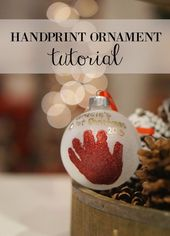 Recently, I posted a bucket list for baby's first Christmas. One of the activiti… – herbstbacken