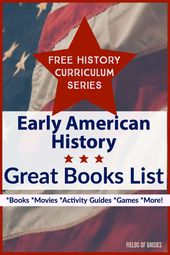 Early American Historical past Books