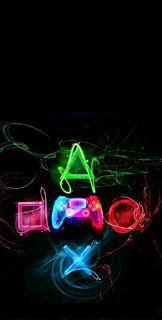اجمل خلفيات بلاي ستيشن Playstation للموبايل صور خلفيات بلاي ستيشن Playstation للهاتف الذكي الجوال Neon Signs Wallpaper Phone Wallpaper
