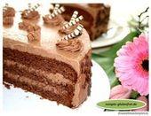 Pastel de crema de chocolate   – Torten