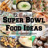 12 Winning Super Bowl Food Ideas + Funtastic Friday Link Party