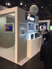 Luking Technology Exhibition Stand