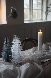Photo of Nordic Fir Tree 3D Kit auf Fuß – Weißes Medium – Fabulous Goose Scandinavian Interior Design-Produkte