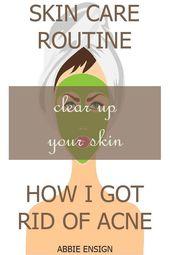 Hautpflege für Anfänger. Ich habe einige DIM-Bewertungen für Akne gelesen und bin … – Acne Treatment Diy