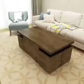 Amazing home ideas hidden storage coffee table