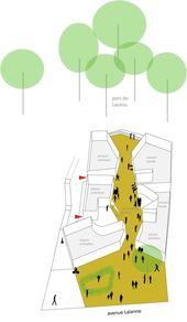 Galerie des Gemeindezentrums in Billère / Bandapar Architektur – 19 #architec …