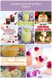 This non-alcoholic drink recipe made with Dr. Pepper, raspberry puree and coconu…   – kids-storage